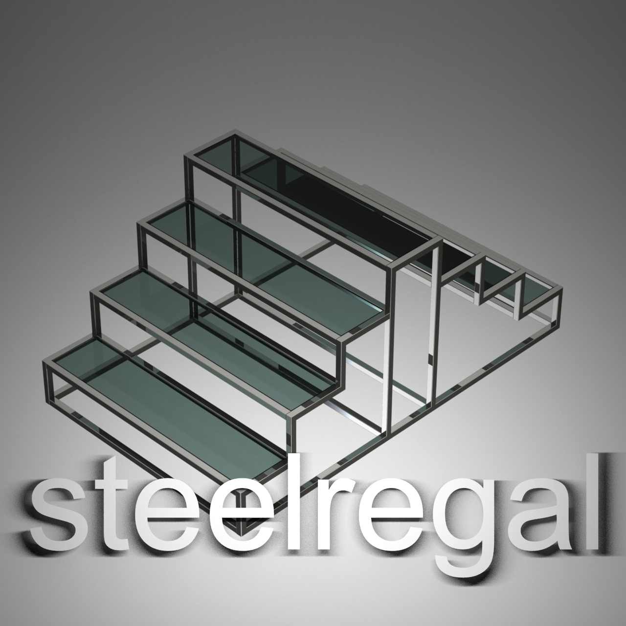 رگال استند سه پله