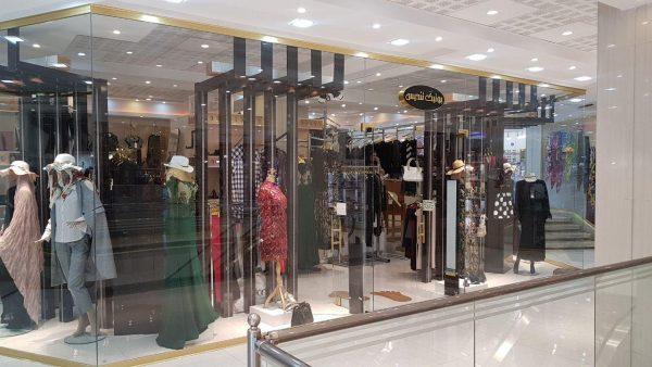 طراحی فروشگاه استیل رگال تبریز بوتیک تندیس