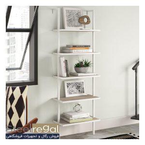 نمونه رگال قفسه خانگی استیل رگال- کتابخانه مدولار